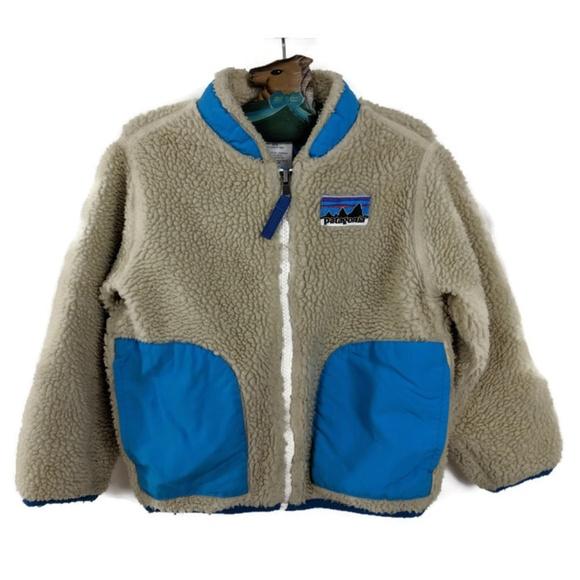 6f2b559c103ac Patagonia Jacket Kids 3T Retro X Sherpa Fleece. M 5c0829b4c2e9feb998ec3f6b